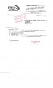 Sprawozdanie finansowe za 2014 r. 001