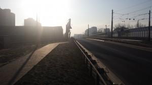 widok z miejsca, gdzie robiony byl pomiar
