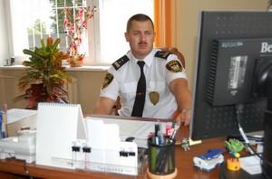 Krzysztof Bulwan Komendant Straży Gminnej w Człuchowie