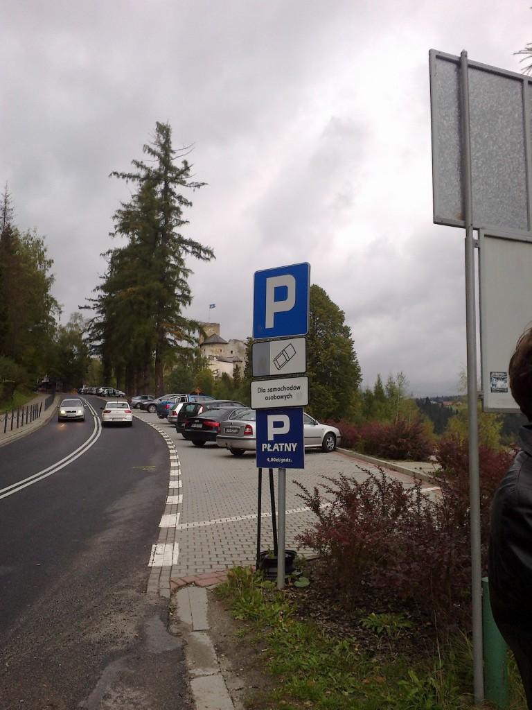 Nielegalny parking