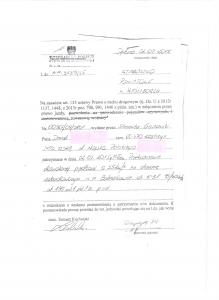 """Tak wygląda """"dokument"""" ,na podstawie którego każdy policjant w Polsce może odebrać prawo jazdy każdemu kierowcy - bez żadnych dodatkowych dowodów"""