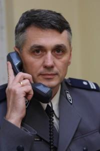 Andrzej Borowiak - Rzecznik Prasowy Komendy Wojewódzkiej Policji w Poznaniu